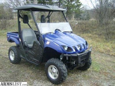 For Sale: Like New 2007 Yamaha Rhino 660 SE 4x4