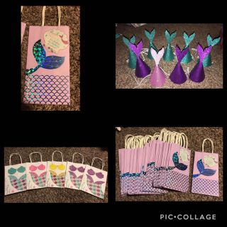 Mermaid Party Decorations Lot