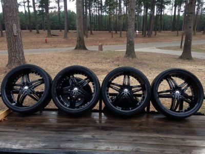 26 Rims and Tires