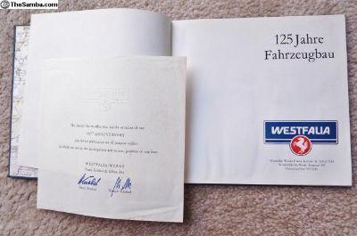 Westfalia Factory Book
