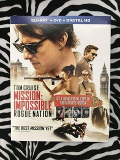 DVD Mission Impossible Rogue Nation (Blu-ray, brand new, never opened)