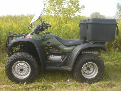 2004 Honda FourTrax Rancher 4x4 ES Utility ATVs Mukwonago, WI