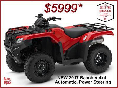 2017 Honda FourTrax Rancher 4x4 DCT EPS Utility ATVs Erie, PA