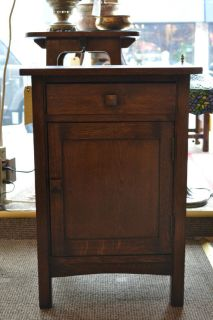 Mission Oak End Table or night stand