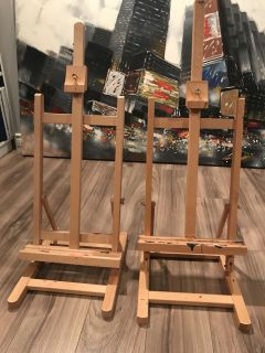 2 Table Top Art Easels
