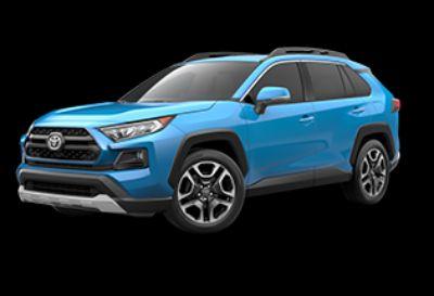 2019 Toyota RAV4 Adventure (Blue Flame)