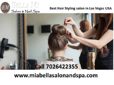 Best Hair Styling salon in Las Vegas US 7026422355