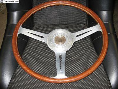 Original 904 Ll Wood Steering Wheel