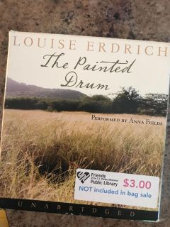 Louise Erdrich - The Painted Drum cd book