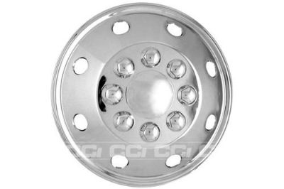 "Purchase CCI AL165SS - Polished 16.5"" Wheel Skin Hub Cap Rim Cover Trim 4 Pcs Full Set motorcycle in Tampa, Florida, US, for US $138.67"
