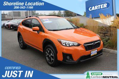 2018 Subaru Crosstrek Premium (Ss2/Orange)