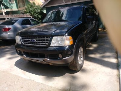 Ford explorer 2002 xlt 4wd automatic