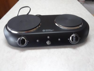 GE double hot plate