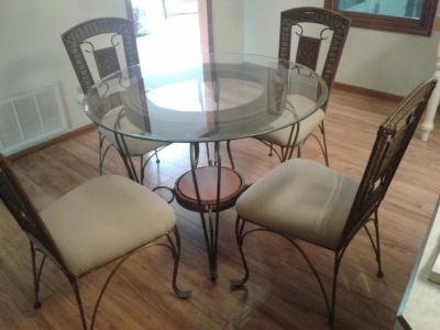 Table & Chairs (+) ~ $150