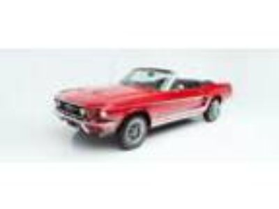 1967 Ford Mustang -- 1967 Ford Mustang 113,530 Miles Red Convertible 289