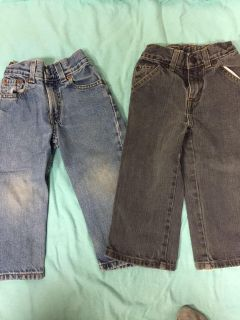 Levis and Sonoma Jeans