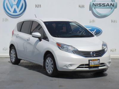 2015 Nissan Versa Note S (White)