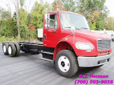 2012 Freightliner M2 24 ft Tandem Cab & Chassis