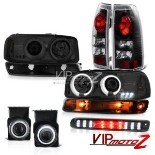 Find 03-06 Sierra 4.3L Third brake light fog lights tail signal lamp CCFL Headlights motorcycle in Walnut, California, United States, for US $325.28