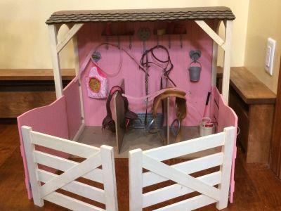 Our Generation Horse Barn Stable for 18 inch dolls