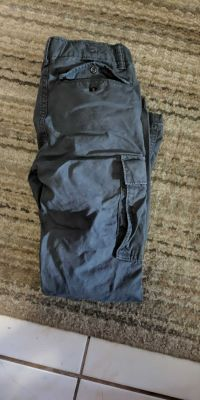 Gap grey cargo pants