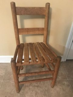 Child s wooden chair