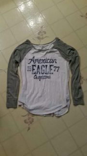 Juniors Size S, long sleeve, sleeves have shimmer/sparkle