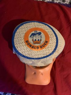 Vintage Donald Duck Disney hat