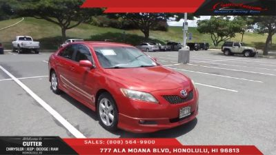 2008 Toyota Camry XLE V6 (red)