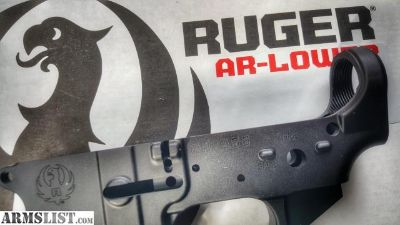 For Sale: Ruger AR556 Stripped AR-15 Lower Receiver @ 802FIREARMS