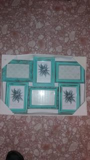 """NEW Collage frames 20 5/8""""W x 14 1/8""""H . Holds 4 x 6 inch pictures, pick up in Brazoria"""