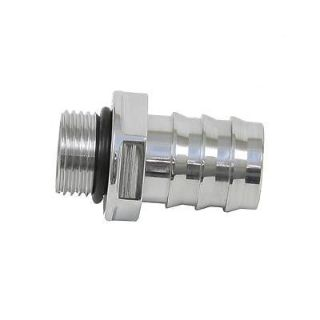 "Buy Meziere WPM34U Water Pump Fitting Straight -8 AN to 3/4"" Hose Barb Polished motorcycle in Suitland, Maryland, US, for US $23.74"