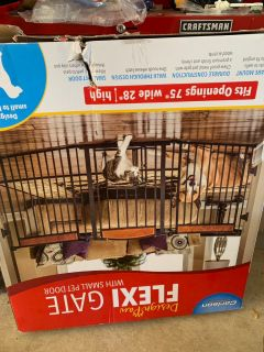 Flexi Gate pet gate for the house