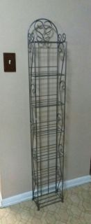 TALL/WROUGHT IRON/ STAND......EXCELLENT CONDITION