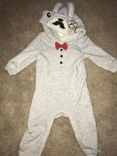 6-9 months bunny outfit NWOT