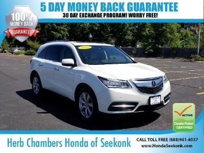 2016 Acura MDX w/Advance (White Diamond Pearl)
