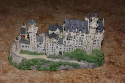 Neuschwanstein Castle from the Danbury Mint Enchanted Castles of Europe