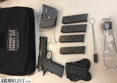 For Sale: Springfield Range Officer Elite