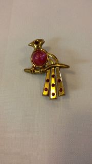 Vintage Bird Brooch