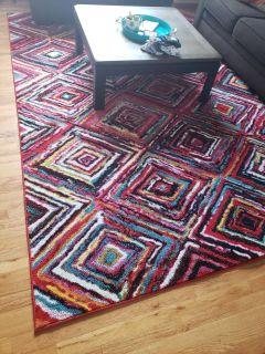 Large area rug in Excellent condition