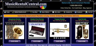 Music Instrument Rentals - School Year Specials