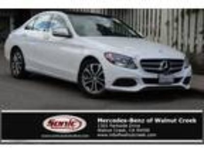 Used 2016 Mercedes-Benz C-Class White, 17.5K miles