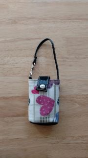 Small purse large enough to carry driver's license, credit cards, money etc