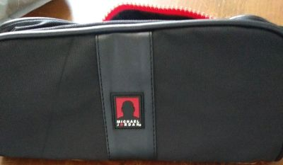 Men's Michael Jordan travel toiletries bag serious inquiries and pick up only