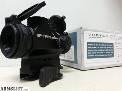 For Sale: Vortex Spitfire w/American Defense QD mount