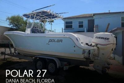 2006 Polar Boats 2700 Center Console