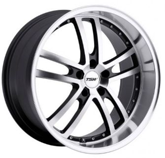 Purchase 18x8 TSW Cadwell 5x112 Rims +32 Mirror Cut Face Wheels (Set of 4) motorcycle in Hayward, California, United States, for US $1,120.00