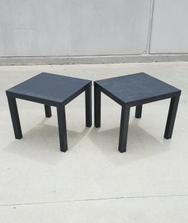 Mainstays Parson End Tables, Sold in Pairs Only, 3 Sets Available