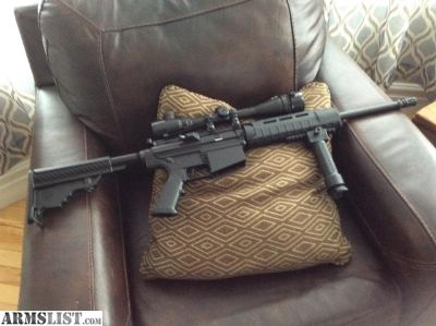 For Sale/Trade: DPMS AR 10 with scope