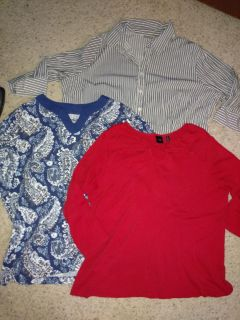 3- size 2x 3/4 sleeve tops